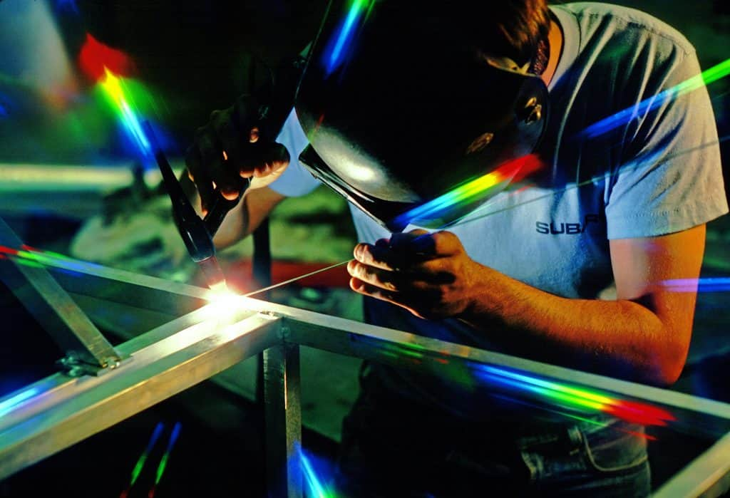 can you use sunglasses for welding?  No, sunglasses cannot block the different types of light welding produces