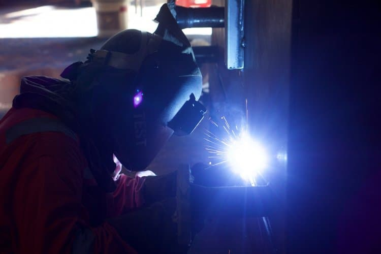 can you weld with sunglasses?  welding flash is a sunburn on your eyes
