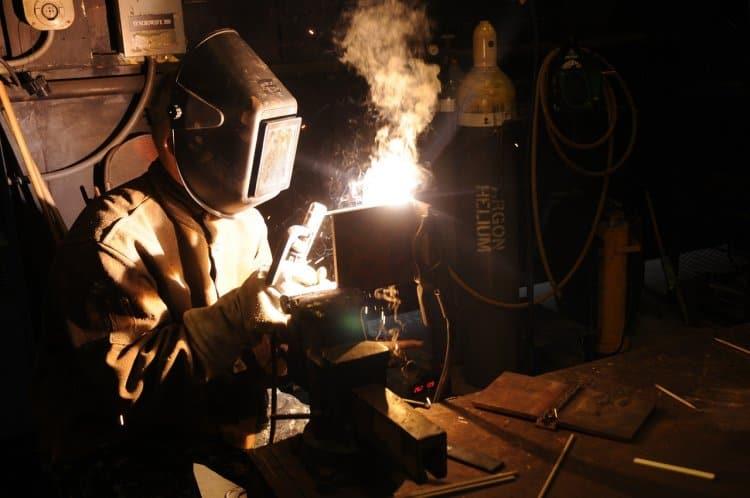 fixing welding helmet visibility problems