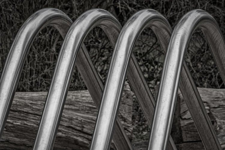 how to finish stainless steel after welding - stainless steel bike rack