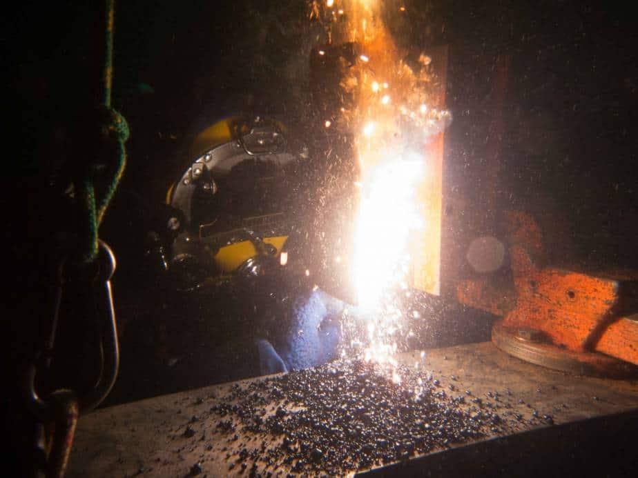 underwater welding, how does it work?