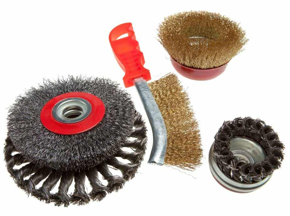 Clean Your Base Metals with wire brushes